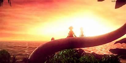 Hearts Kingdom Sora Destiny Kairi Trio Riku