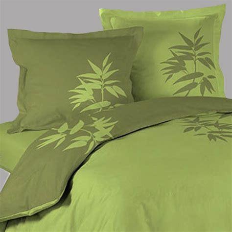housse de couette zen bambou vert 2 taies d oreillers http www richandhome housse de