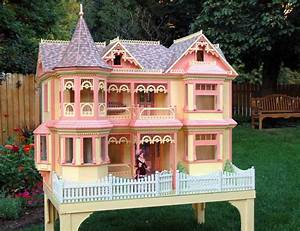 04-FS-152 - Victorian Barbie Doll House Woodworking Plan