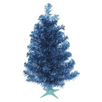 24 quot unlit tinsel tree turquoise find artificial flowers