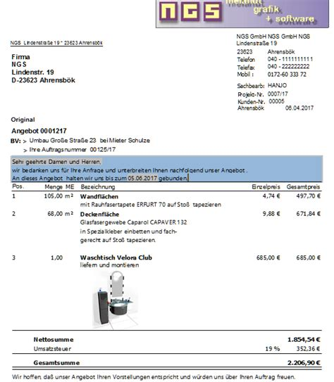 Fliesenleger Rechnung Beispiel by T De Rechnung Gel St Lt Ihrer Email Betr Gt Meine