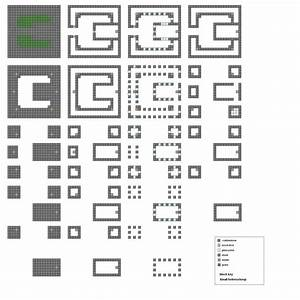 Minecraft Blueprints Layer By Layer Minecraft castle ...