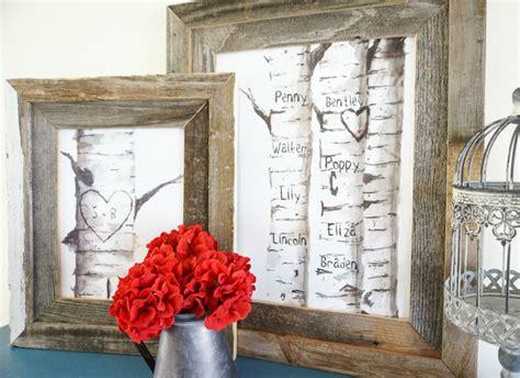 remodelaholic  printable birch tree art prints