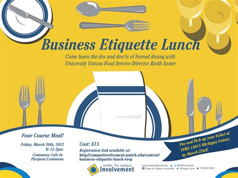 formal dining room business etiquette lunch cus involvement