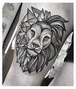 otp: lion tatto...