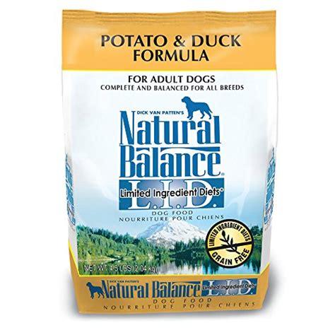 natural balance limited ingredient dry dog food potato