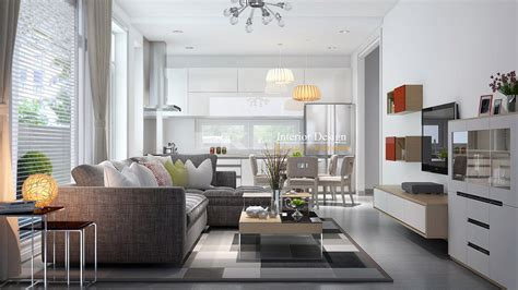 open plan kitchen living room lighting visualizations with commendable concepts 9016