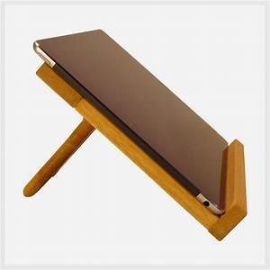 Tablet Halter Holz : tablethalter bringt medien in position ~ A.2002-acura-tl-radio.info Haus und Dekorationen