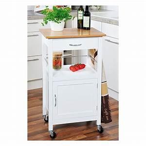 Meuble Cuisine Desserte : petit meuble roulette cuisine ~ Teatrodelosmanantiales.com Idées de Décoration