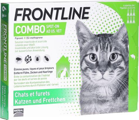 frontline combo spot  loesung katzen  ml  der