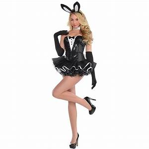 Sexy Bunny Rabbit Costume Tuxedo Tutu Hen Bedroom Hostess ...