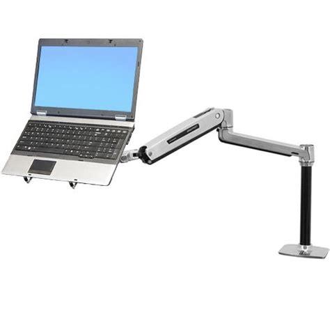 laptop desk mount arm ergotron lx sit stand laptop desk mount arm