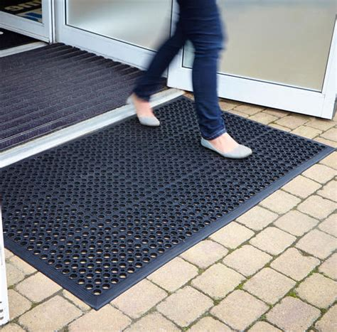 Large Floor Mats by Rubber Mats Outdoor Heavy Duty Entrance Mat Non Slip Floor