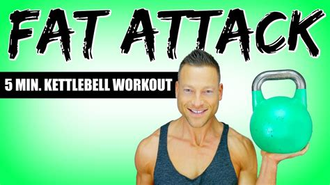 kettlebell exercises fat loss workout attack