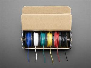 Hook-up Wire Spool Set - 22awg Stranded-core
