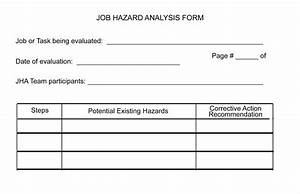 jsa form osha olalapropxco With job hazard assessment template