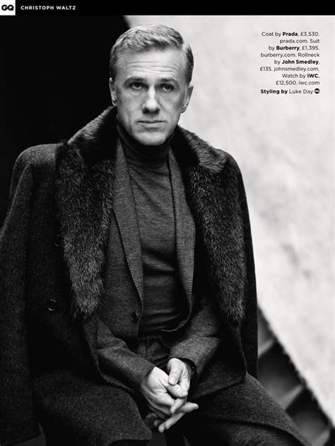 British Vanity Fair by Christoph Waltz Covers Uk Gq May 2015