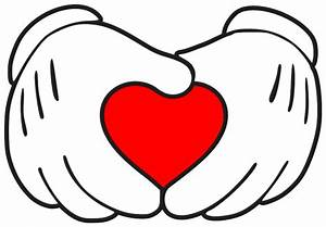 Mickey mouse hand in shape of heart — Make The Cut! Forum
