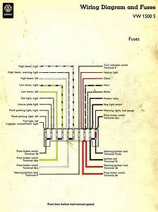 1976 Vw Fuse Diagram
