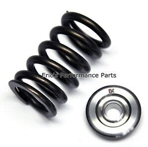brian crower bc0100 single valve springs titanium retainers for 4g63 dsm evo 1 9 84829009499 ebay