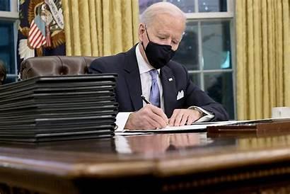 Biden Executive Signs Order Joe Orders Ban