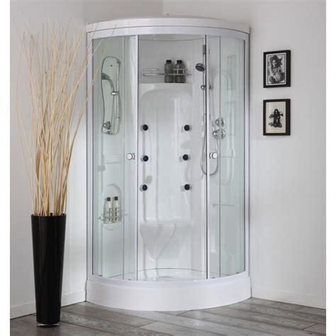 doccia cabina doccia con idromassaggio e bagno turco 90x90 cm kv store