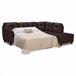 Sofa gorgeous leather sofa bed sectional sanblasferry for Leather sectional sofa with recliner and bed