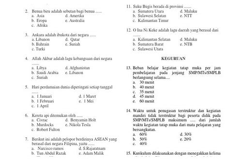 download soal guru berprestasi sd
