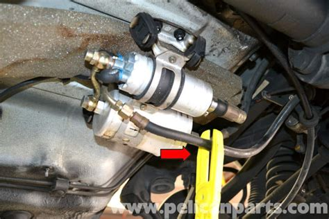 mercedes benz  fuel filter replacement