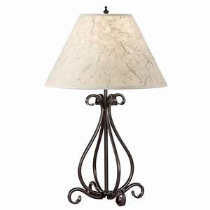 wrought iron table lamps herreria pinterest iron With iron floor lamp with table
