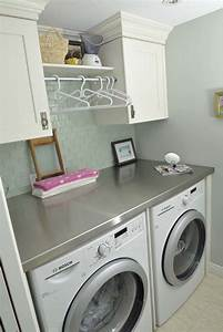 60 amazingly inspiring small laundry room design ideas for Laundry room remodel pictures