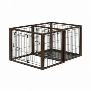 petmaker purple portable pet crate with soft sides x With portable dog kennels home depot