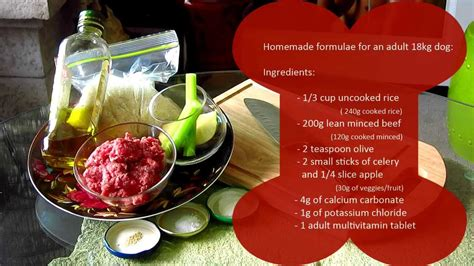 cook   dog basic food recipe bowen hills