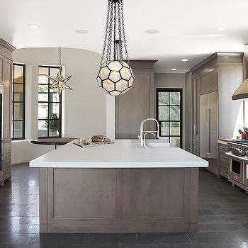 gray wash kitchen cabinets side by side wine coolers contemporary kitchen 3940