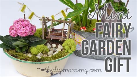 gift ideas for patio how to make a diy miniature garden gift