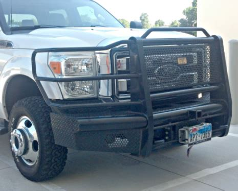 ranch king  front bumper replacement ford ff