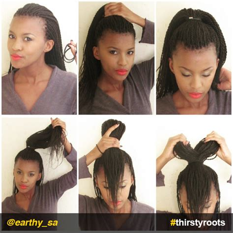 bow hairstyle  braids  locs