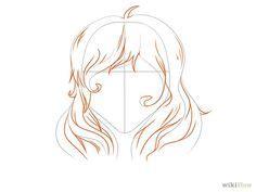 mejores  imagenes de pelo en pinterest como dibujar