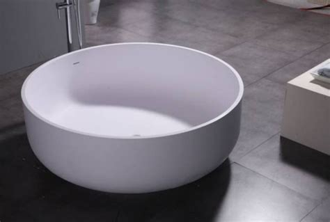 """Oceanus Luxury Modern Round Bathtub 53""""   Modern   Bath"""