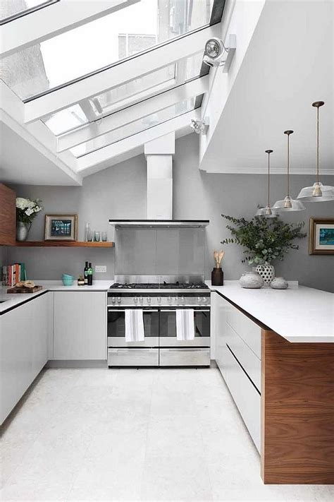 25 Captivating Ideas For Kitchens With Skylights Kitchen