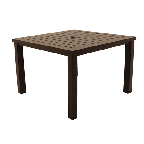sherwood square dining table patio sun country