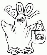 Ghost Coloring Printable Everfreecoloring sketch template