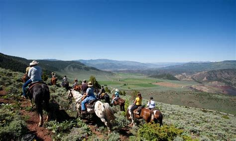 riding horseback vail colorado activities summer mountain ranch trail horse rides vacations