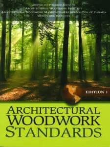 architectural woodwork standards edition  woodwork