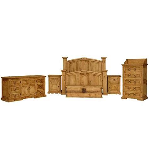 Mansion Bedroom Furniture by Rustic Pine Collection Mansion Bedroom Set Bedset05
