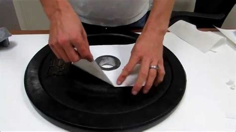 rubber bumper plate repair kit developed  tested