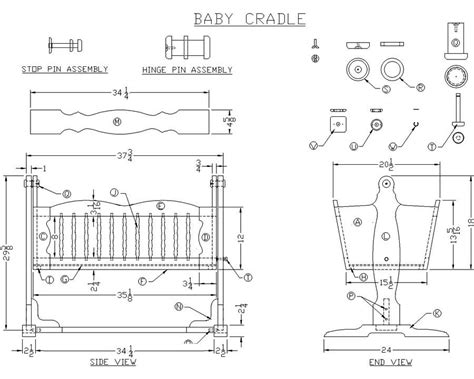 build diy baby crib woodworking plans plans wooden wood