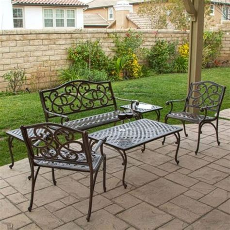 furniture how to repair cast aluminum patio furniture the