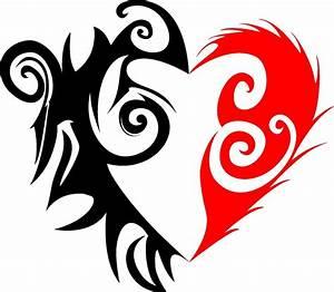 Tribal heart by romulo1995 on DeviantArt