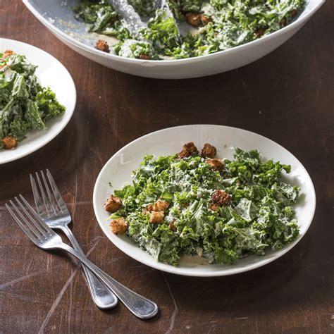 kale nice twist  caesar salad columbiancom